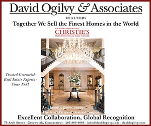 We are the only Christie's International Affiliate in Greenwich, Connecticut - Together We Sell the Finest Homes in the World!